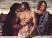 Giovanni Bellini Dead Christ Supported by the Madonna and St John oil painting artist